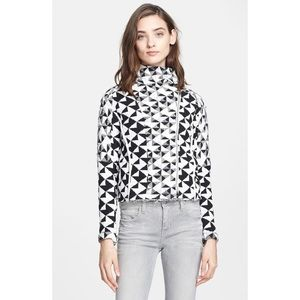 IRO Otavia Triangle Pattern Textured Jacket